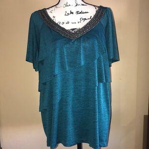 I.N. Studio | Women's short sleeve blouse